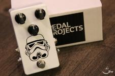 Pedal Projects Marbleverb Special Hand Paint Stormtrooper image