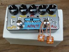 Z Vex Junky Lo Fi Looper Guitar Bass Keyboard Pedal 2008 Custom Graphics image