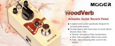 Mooer Wood Verb Acoustic Guitar Reverb NEW from MOOER FREE Shipping image