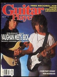 Guitar Player Magazine 1990 - all 12 issues w/ Soundpages* image