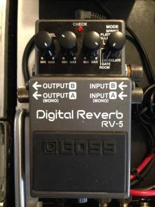 Boss Digital Reverb RV-5 GREAT Condition image