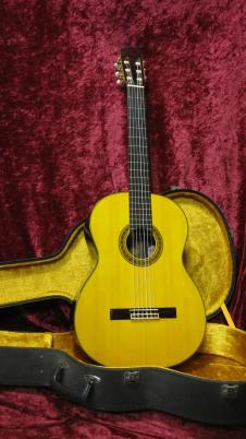 Takamine EC-128 1979 Natural Solid Brazilian Rosewood Factory Electronics & Case image