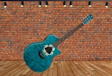 Luna Guitars Fauna Dragonfly Electric Acoustic image