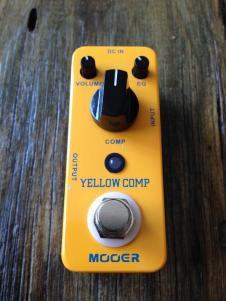 Mooer Yellow Comp Compressor in box with all paperwork image