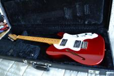 Fender American Vintage '72 Telecaster Thinline 2012 Candy Apple Red image