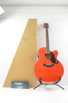 Gretsch G5022CE Rancher Jumbo Cutaway Acoustic-Electric Guitar - Orange - In Box image