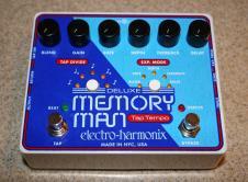 Electro-Harmonix Deluxe Memory Man Tap Tempo 1100, 2015, Brand NEW! Analog Man Mod! Unique Offering! image