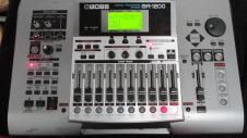 Boss BR1200 12 Track Digital Recorder 80GB w/Power Supply image