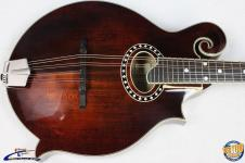 Eastman MD514 Classic, F-Style Acoustic Mandolin w/ Case, Solid Woods #30413 image
