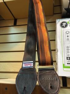 NEW Souldier Sedona Seatbelt Strap - Nutmeg Strap/Warm Brown Tabs/Silver Hardware - FREE SHIP image