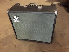 AMPEG VT-40 rare top mounted version tube 4x10 combo with new Eminence Ragin Cajun speakers image