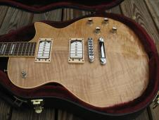 1999 Guild Bluesbird AAA Westerly, RI; Quilted Maple Natural Finish; Mint Condition; OHSC Hang Tags image