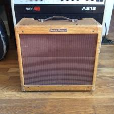Vintage Fender Harvard amp 1960 Tweed original 5f10 image