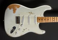 Fender '60 Heavy Relic Hardtail Strat 2008 Olympic White image