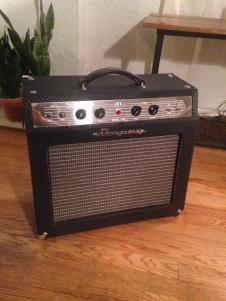 AMPEG  Jet j-20 Fender brown face deluxe circuit 6g3 image