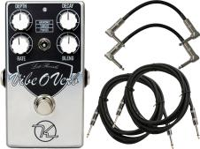 Keeley Vibe O Verb Vintage Reverb Pedal w/ 4 Cables image