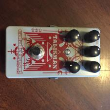 Catalinbread Talisman Reverb 2015 Grey And Red image