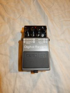 Boss RV-5 Digital Reverb Effects Pedal image