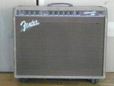Fender Vibrasonic January 1960 reverse panel 5G13 brown guitar amp image