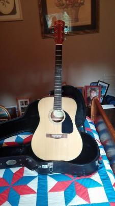 Fender acoustic guitar image