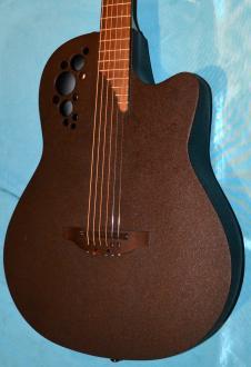 Ovation Elite DS778TX Long-Scale D-Tuned Acoustic/Electric  Black image