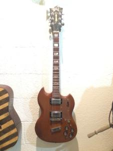 Guild S100 1974 Flame Mahogany image