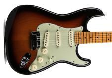 Fender Custom Shop Custom Deluxe Strat  2011  3 Tone Sunburst image