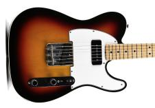 Fender  Custom Shop P-90 Tele 2014 3 Tone Sunburst image