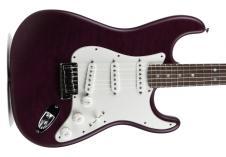 Fender  Custom Shop Custom Deluxe Strat  2013 Purple Transparent image