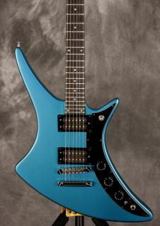 Guild X-79 non-pointed headstock w/Paperwork 1981 Metallic Blue image
