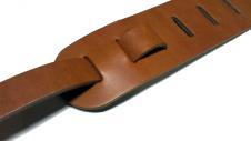 "Live Line Standard Style ""Tochigi Leather"" Guitar Straps image"
