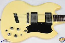 1997 Guild S-100 Polara Electric Guitar w/ HSC Cream Seymour Duncan Pups #31297 image