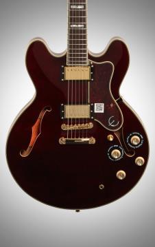 Epiphone Sheraton II Pro Electric Guitar, Wine Red image