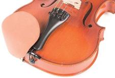 Strad Pad Rosewood Chinrest Pad: Standard Size - Velcro image