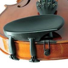 Wittner Composite 1/16-1/8 Violin Chinrest - Side Mount - Hypoallergenic image