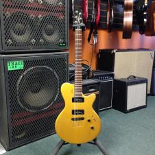 Godin LG With P90s Gold-Top Gold image