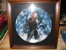 Elvis Presley:In Performance Plate Collection, Plate #1, '68 Comeback Special, Bruce Emmett Artwork image