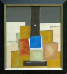 Azzurro #1, original guitar art image