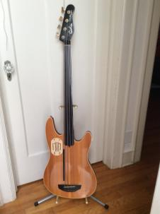 Godin L.R. Baggs Model Fretless Acoustibass Early 1990's Natural image