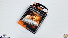 Hohner Golden Melody Progressive Harmonica Made in Germany Key Bb BF B-Flat NEW! #24505 image
