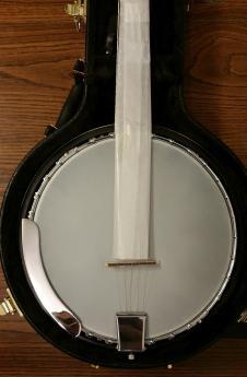 Harmony 5 String Banjo Natural Professionally Setup! image