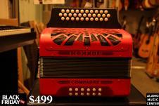Black Friday Hohner Compadre ADG Key  Red image