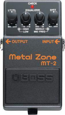 Boss MT-2 Metal Zone Pedal image