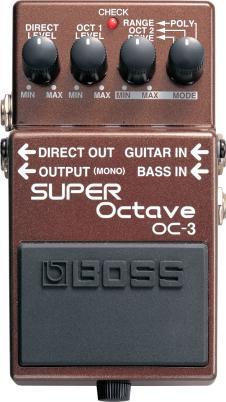 Boss OC-3 Super Octave Pedal image