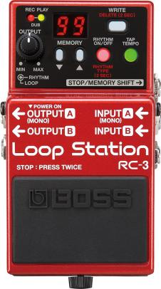 Boss RC-3 Loop Station Guitar Effects Pedal image