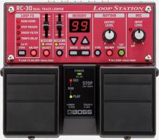 Boss RC-30 Dual Track Looper Twin Pedal Loop Station Guitar Pedal image