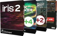 iZotope Creative Bundle BreakTweaker Stutter Edit Iris 2, Trash2 Black Friday Cyber Monday Sale image