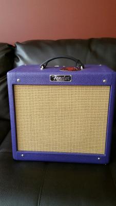 Fender Pro Jr III 2013 Plum Crazy image