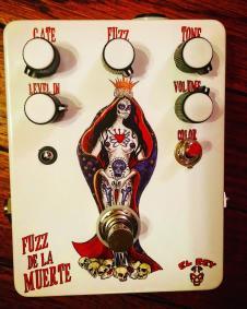 El Rey Fuzz De La Muerte fuzz pedal image