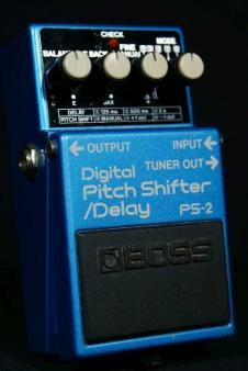 Boss PS-2 Digital Pitch Shifter Delay 1992 s/n ZE01838 image